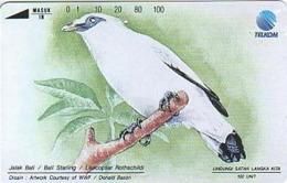 Indonesien - IND 141 WWF INDONESIAN BIRDS - 100 Units - Indonesië