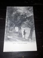 Cartolina Postale 1900, Genève, Sentier De La Jonction - GE Geneva