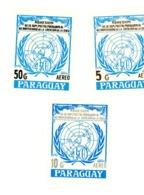 Paraguay-1986-ONU-MI 3947/9***MNH - UNO