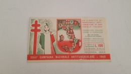 RARE ANTIQUE ITALY CARNET XXIII CAMPAGNA NAZIONALE ANTITUBERCOLARE 1960 - Erinnophilie