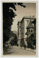 BOLZANO    VIA  DEL  LITTORIO    PALAZZO   DEL   GOVERNO  (TARGHETTA)              2  SCAN  (VIAGGIATA) - Bolzano (Bozen)