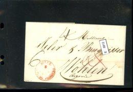 Schweiz Vorphilatelie, Brief Nach Wohlen (Aargau), Aus Bulle, 1826 (?) - Suisse
