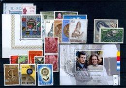 Lichtenstein 5 Lose U.a., FDC 548-550 - Lotes/Colecciones
