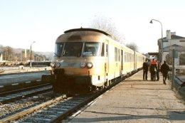 Firminy (42) 12 Décembre 2004 - Rame RTG 2014/13 - Train Spécial ARF - Firminy