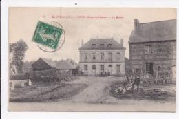 CP 76 MANNEVILLE LA GOUPIL La Mairie - Francia