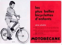 Tarif De Vente Vélo Cyclomoteur Motocyclette Motobécane Et Divers Publicités De Cycles Cyclomoteurs (20 Documents) - Motos