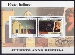 2000 ITALIE  N** 23  MNH - Blocs-feuillets