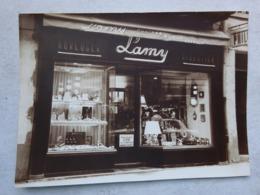 OHM Photo Albertville Savoie Devanture Lamy Montres Bijoux Cadeaux 52 Rue De La République Années 60 - Orte