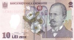 ROMANIA P. 119c 10 L 2007 UNC - Rumania