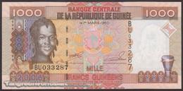 TWN - GUINEA 40 - 1000 1.000 Francs 2006 Prefix BU UNC - Guinea