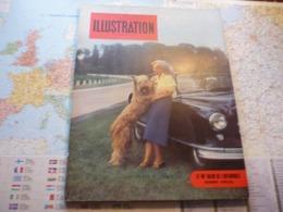 France Illustration Le Monde Illustré N°403 Octobre 1953 Le 40-e Salon De L'automobile - Informaciones Generales