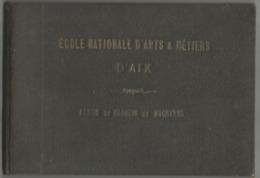 VP.0577/ Ecole Nationale D'Arts & Métiers D'Aix - Album De Croquis De Machines - 1894 - Machines