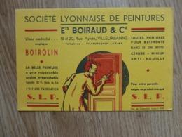 BUVARD SOCIETE LYONNAISE DE PEINTURES ETS BOIRAUD ET CIE - Peintures