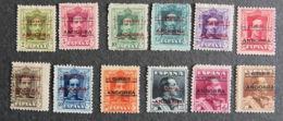 ANDORRE ESPAGNOL - 1928 - YT 1 à 12 * - Nuevos