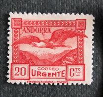 ANDORRE ESPAGNOL - 1929 - YT 43 ** - Spanisch Andorra
