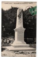 LUGNY MONUMENT AUX PORTS DE 1870 ANIMEE - Frankrijk