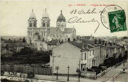CPA NANCY - L'Église Du Sacre-Coeur (484021) - Nancy