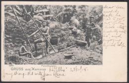 AK - Gruss Aus KAMERUN / CAMEROON, Palmolbereiter - Camerún