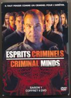 ESPRITS CRIMINELS, CRIMINAL MINDS, L'intégrale De La Saison 1, Coffret 6 DVD, Très Bon état - TV-Serien