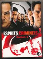 ESPRITS CRIMINELS, CRIMINAL MINDS, L'intégrale De La Saison 2, Coffret 6 DVD, Très Bon état - TV-Serien