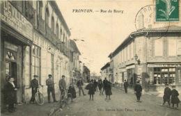HAUTE GARONNE  FRONTON  Rue Du Bourg - Frankrijk