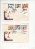 MOZAMBICO 1978 - Yvert 666/71 - Annullo Speciale - Sport Vari - Pallavolo - Mozambico