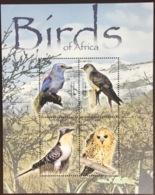 Lesotho 2004 Birds Sheetlet MNH - Pájaros