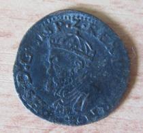 Pays-bas Espagnols - Tournai - Maille Philippe II D'Espagne (1555 - 1598) - [ 1] …-1795 : Période Ancienne