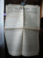 (G51) IL VENETO QUOTIDIANO DELLA REGIONE - PAGINA GRUPPO UNIVERSITARIO FASCISTA 16/17 MAGGIO 1930 - Riviste & Giornali