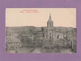Cpa.Firmy.  L'église Et Le Château - Firmi