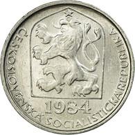 Monnaie, Tchécoslovaquie, 10 Haleru, 1984, TTB, Aluminium, KM:80 - Czechoslovakia