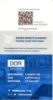 DDR Museum / Musée De La RDA (Berlin -Allemagne) - Eintrittskarten