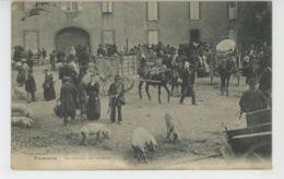 PAMIERS - Le Marché Aux Cochons - Pamiers