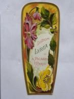 Etiquette Gauffrée - Lotion Lyrta - A. Picard Paris - Labels