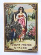 Etiquette - Parfum - Robert Frères GRASSE 06 - Labels