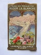 Etiquette - Eau De Toilette - ALGER LA BLANCHE - LORENZY PALANCA - Labels