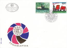 Yugoslavia FDC: 1976 Europa CEPT    (G46-19) - Europa-CEPT
