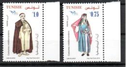 Tunisie Euromed Typical Dress Set 2019 MNH - Tunesien (1956-...)