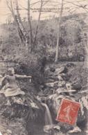 Le Ruisseau De Rangeard à St Hilaire Près De Mortagne Fillettes à La Peche éditeur Poupin N°237 - Mortagne Sur Sevre