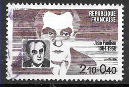 FRANCE 2331 Jean Paulhan Critique Et Essayiste - Used Stamps