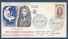 France - FDC - Premier Jour - Lulli - Au Clair De La Lune - Paris - 1956 - FDC