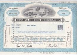 Shares: 1981 General Motors Corporation - 67 Shares (L73-9) - Shareholdings