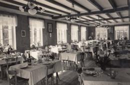 CANAZEI-TRENTO-ALBERGO=CROCE BIANCA=SALA PRANZO-CARTOLINA VERA FOTOGRAFIA NON VIAGGIATA -ANNO 1950-1960 - Trento