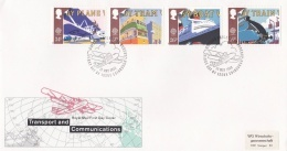 Great Britain 1988  FDC Europa CEPT (LAR3-B12) - Europa-CEPT