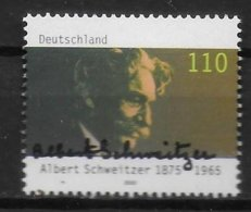 ALLEMAGNE    N° 1921   * *   Albert Schweitzer - Albert Schweitzer