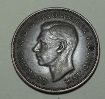 1937 - Grande Bretagne - Great Britain - ONE PENNY, GEORGE VI, KM 845 - D. 1 Penny