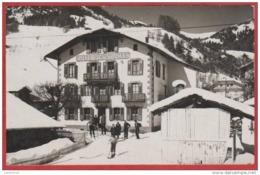 CPA PHOTOCARTE  74 PRAZ SUR ARLY  Hotel Des Sports  , Près SALLANCHES - Sonstige Gemeinden