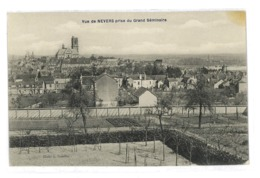 CPA 58 NEVERS VUE PRISE DU GRAND SEMINAIRE - Nevers