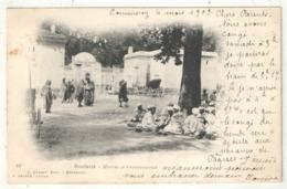 BOUFARIK - Marché Et Caravansérail - Vernet Geiser 23 - 1903 - Altre Città