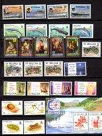 Sainte-Hélène 1987-95, Bateaux, Moto, Insectes, Noël, Série Entre 462 Et 657**, Cote 152 € - Sainte-Hélène
